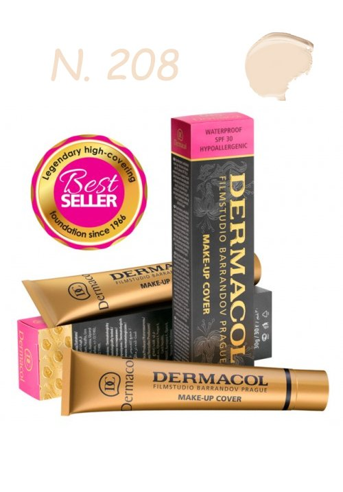 DERMACOL MAKE-UP COVER WATERPROOF SPF30 HYPOALLERGENIC 208 30gr