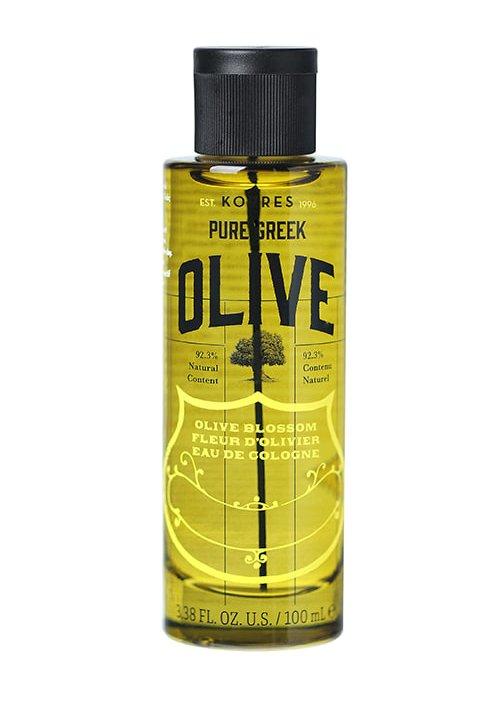 KORRES PURE GREEK OLIVE EAU DE COLOGNE OLIVE BLOSSOM 100ml 3.38fl.oz.u.s.