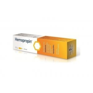 APIMED HEMOPRO OINTMENT -RELIEVES DISCOMFORT BY HEMORRHOIDS WITH PROPOLIS 20G