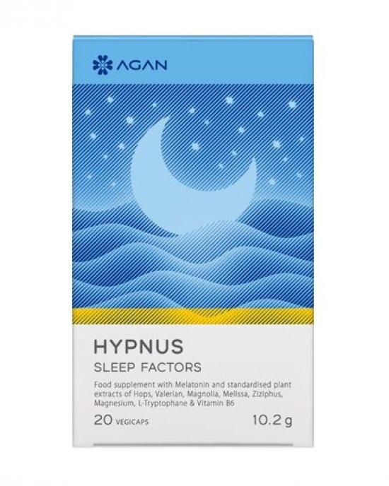 AGAN HYPNUS SLEEP FACTORS- 20 VEGICAPS