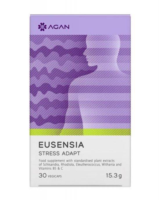 AGAN EUSENSIA – STRESS ADAPT 30 VEGICAPS
