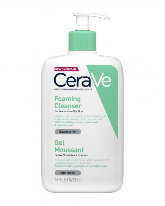 CeraVe Foaming  gel Facial and Body 473ml