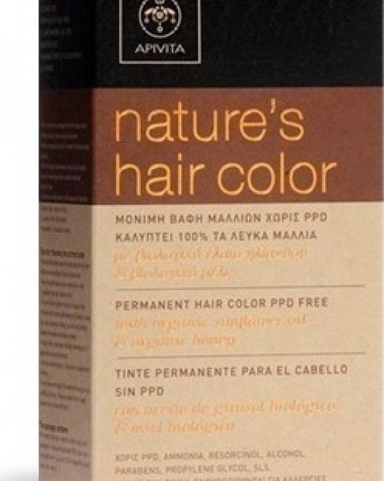 APIVITA NATURE'S HAIR COLOR 6.56 RED