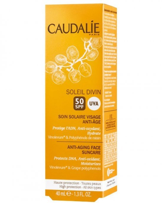 Caudalie Anti-Ageing Face Suncare SPF 50, 40ml