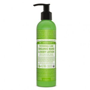 DR BRONNER'S PUMP  Body Lotion with Patcouli & Lime 240ML