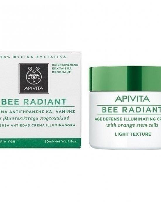 APIVITA BEE RADIANT AGE DEFENSE ILLUMINATING CREAM 50ML