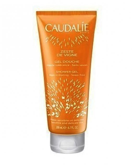 CAUDALIE ZESTE DE VIGNE SHOWER GEL  SENSITIVE - DELICATE SKIN 200mL