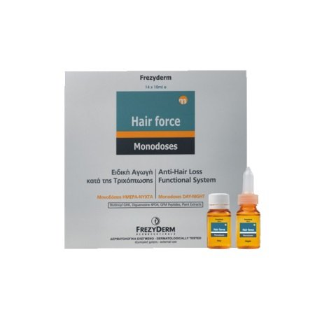 FREZYDERM HAIR FORCE MONODOSES DAY & NIGHT 14X10ML