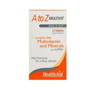 HEALTH AID A TO Ζ MULTIVIT LUTEIN 30 Tabs