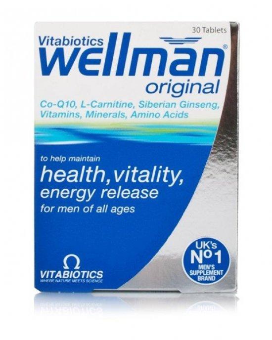 VITABIOTICS WELLMAN ORIGINAL 30caps